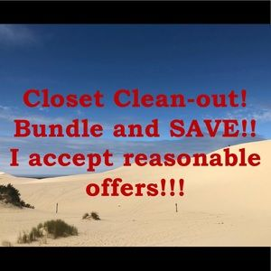 Other - Closet clean out!! Bundle and save!!